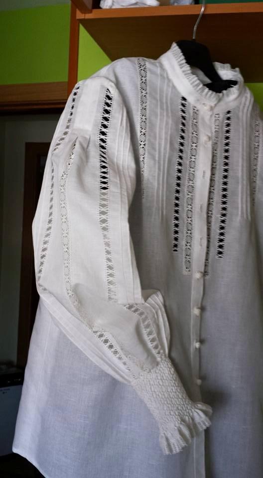 Camisa traje de gallega